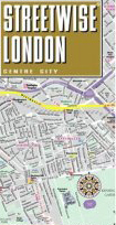 Streetwise London Map - Laminated City Street Map