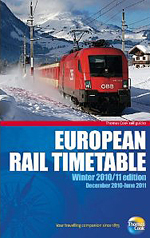 European Rail Timetable Winter 2010/2011 Thomas Cook