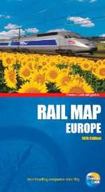Rail Map Europe, 18th (Thomas Cook Rail Map)