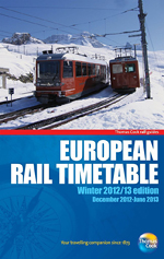 European Rail Timetable Winter 2012/13 Thomas Cook