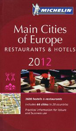Michelin Guide 2012 Main Cities of Europe