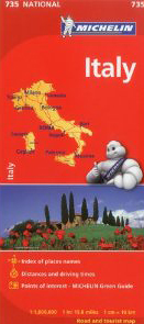 Michelin Italy (Michelin)(Map)