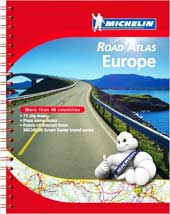 Michelin Road Atlas Europe 2012 [Spiral-bound]