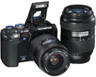 Olympus Evolt E500 8MP Digital SLR with 14-45mm f/3.5-5.6 40-150mm f/3.5-4.5 Zuiko Lenses