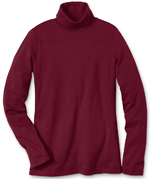 Eddie Bauer Basic Long-Sleeve Turtleneck